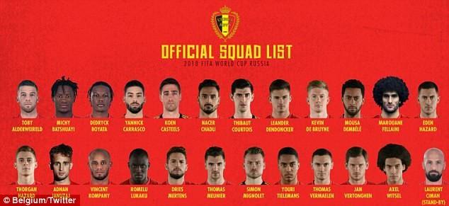 'Những con quỷ đỏ' chốt danh sách dự World Cup:Bất ngờ Benteke - ảnh 3