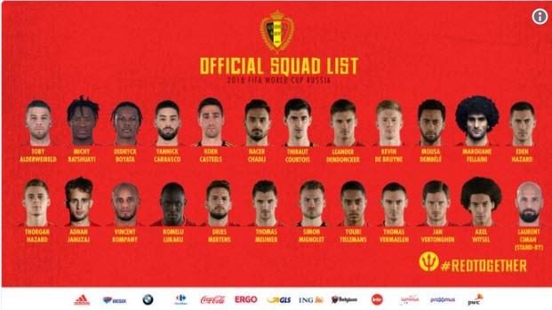 Danh sách chính thức 32 đội tuyển dự World Cup 2018 - ảnh 11