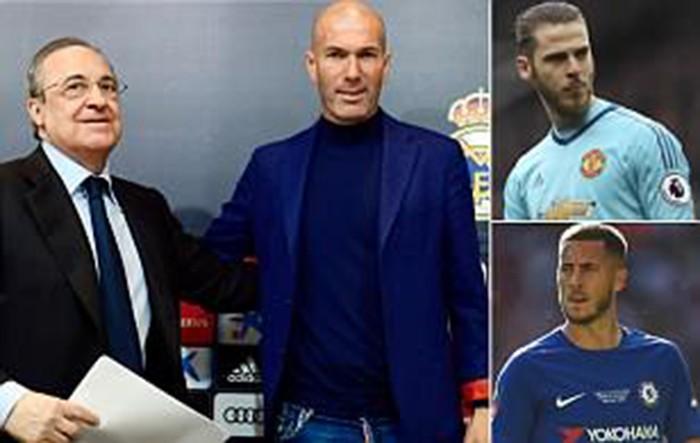 Lí do thật sự Zidane chia tay Real Madrid là vì… sao MU - ảnh 1