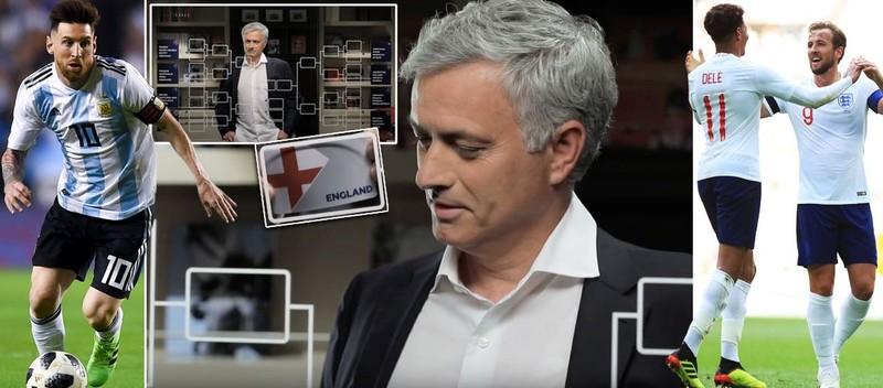 Mourinho trổ tài dự đoán 8 cặp đấu knock-out World Cup 2018 - ảnh 1