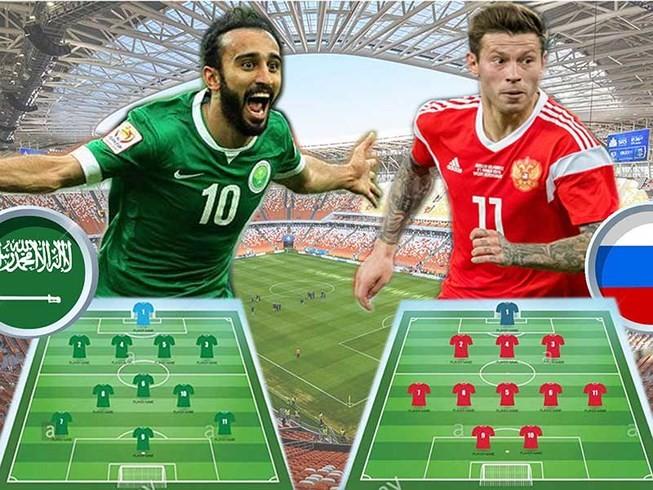 Nga 1-0 Saudi Arabia:Chủ nhà ghi bàn thắng đầu tiên World Cup  - ảnh 26