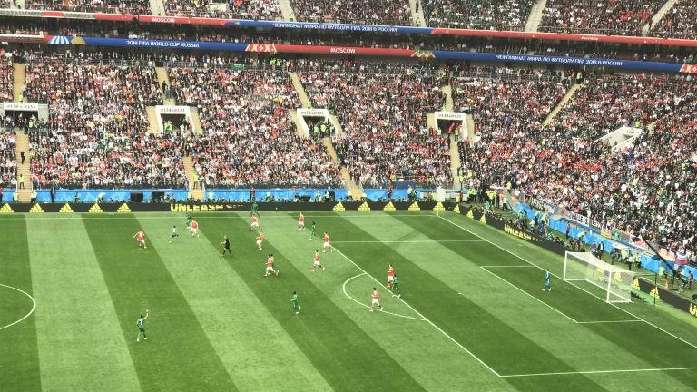Nga 1-0 Saudi Arabia:Chủ nhà ghi bàn thắng đầu tiên World Cup  - ảnh 1