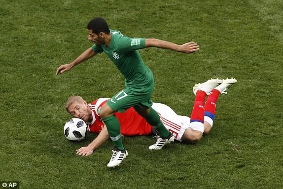 Nga - Saudi Arabia (5-0): Mở màn mỹ mãn của chủ nhà - ảnh 4