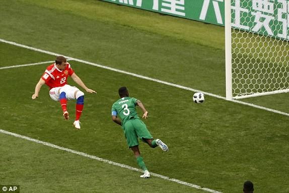 Nga - Saudi Arabia (5-0): Mở màn mỹ mãn của chủ nhà - ảnh 1
