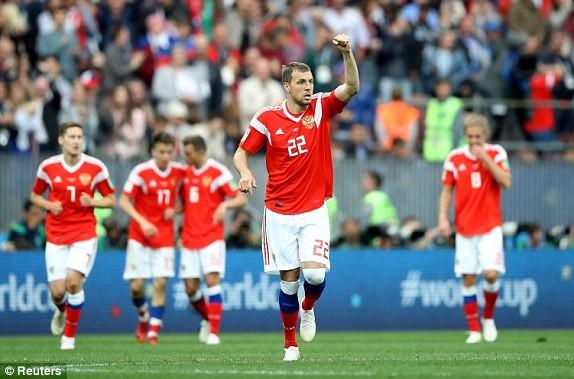 Nga - Saudi Arabia (5-0): Mở màn mỹ mãn của chủ nhà - ảnh 2