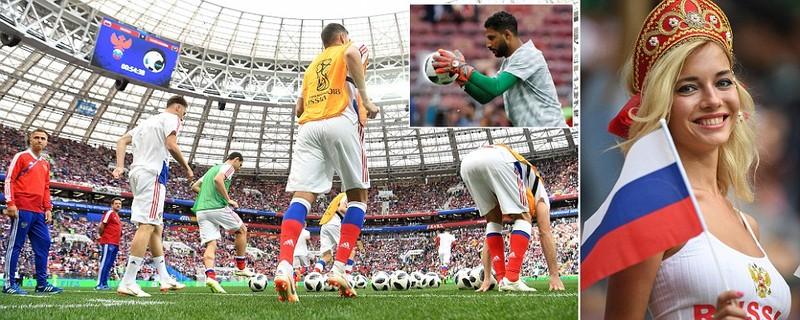 Nga 1-0 Saudi Arabia:Chủ nhà ghi bàn thắng đầu tiên World Cup  - ảnh 23