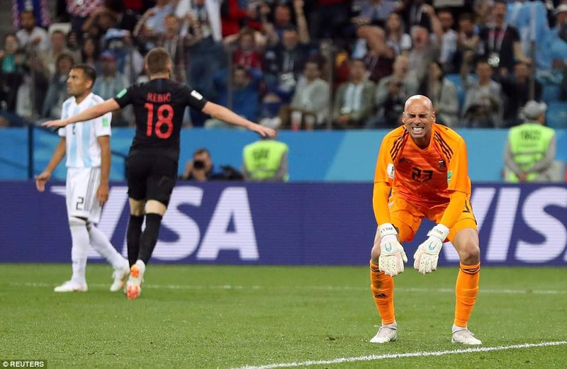 Nhìn lại diễn biến trận Argentina thua thảm Croatia 0-3 - ảnh 17
