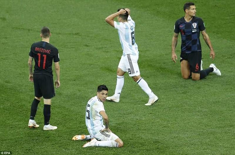 Nhìn lại diễn biến trận Argentina thua thảm Croatia 0-3 - ảnh 11