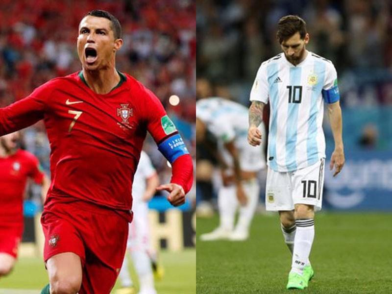 Ronaldo vẫn còn đá World Cup, Messi thì không - ảnh 1