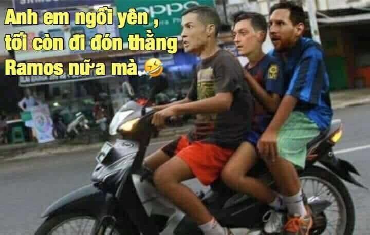 Ronaldo, Ozil, Messi đi đón Ramos - ảnh 1