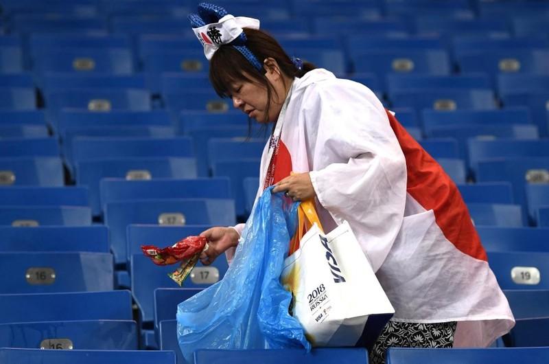 Thua đau Bỉ, người Nhật vẫn hành động khiến thế giới nể phục - ảnh 11