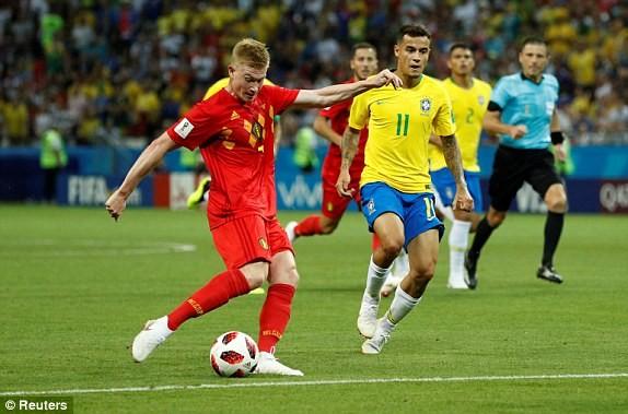 Bỉ gây sốc, loại ứng viên số 1 Brazil khỏi World Cup 2018 - ảnh 7