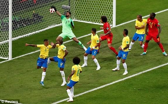 Bỉ gây sốc, loại ứng viên số 1 Brazil khỏi World Cup 2018 - ảnh 5