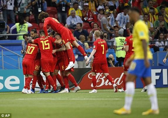 Bỉ gây sốc, loại ứng viên số 1 Brazil khỏi World Cup 2018 - ảnh 6