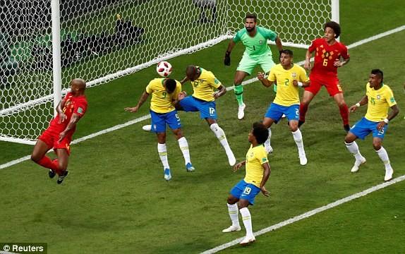 Bỉ gây sốc, loại ứng viên số 1 Brazil khỏi World Cup 2018 - ảnh 4