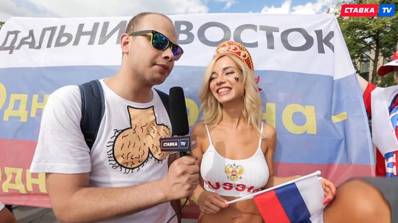 Hot girl khai mạc World Cup hứa khỏa thân nếu Nga vô địch - ảnh 1