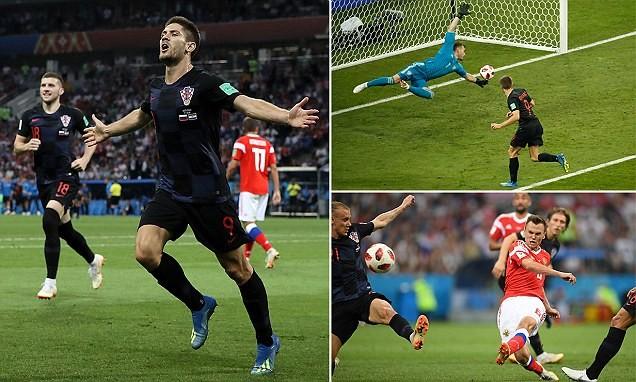 'Đấu súng' nghẹt thở, Croatia loại chủ nhà Nga khỏi World Cup - ảnh 1