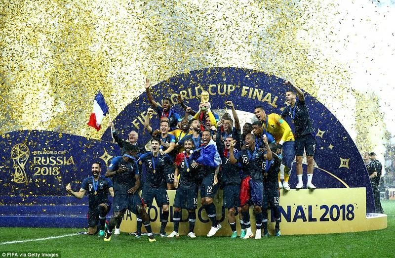 Ông Putin và chuyện hy hữu thời khắc Pháp đăng quang World Cup - ảnh 7