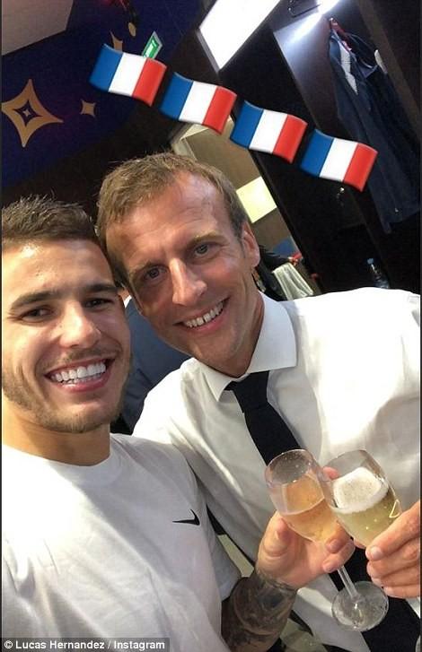 Ông Putin và chuyện hy hữu thời khắc Pháp đăng quang World Cup - ảnh 24