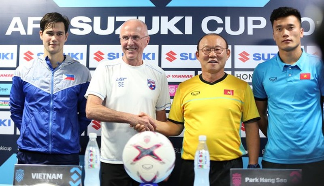 Đánh bại Philippines, Việt Nam mở toang cửa chung kết AFF Cup - ảnh 32