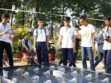 Học sinh phổ thông hào hứng đua thuyền lập trình - ảnh 9