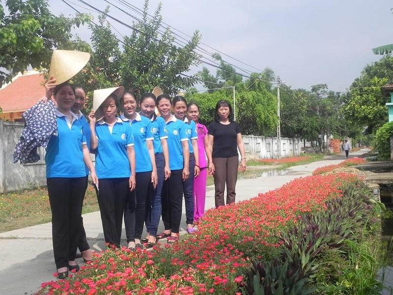 Làng hoa mười giờ đẹp bình dị bên dòng Nhật Lệ - ảnh 4