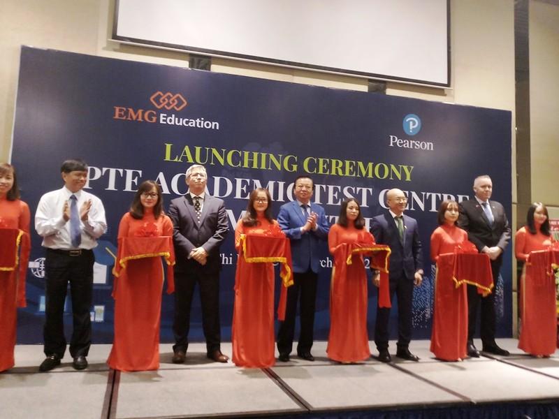 Khánh thành Trung tâm Đào tạo chuẩn PTE Academic - ảnh 1