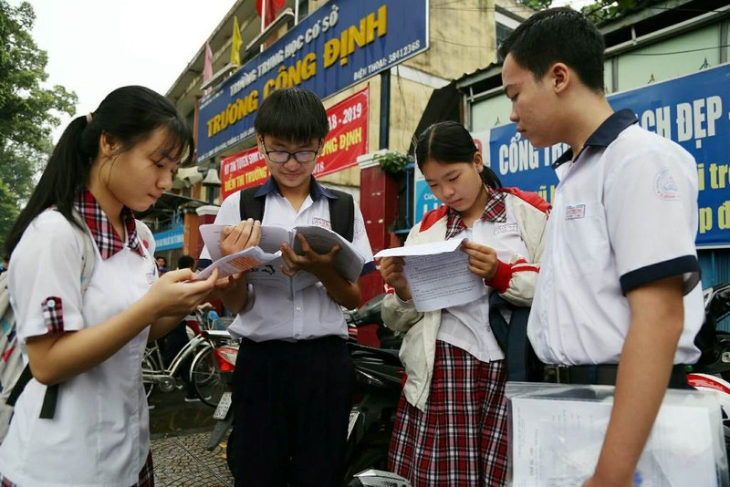 TP.HCM công bố điểm thi tuyển sinh lớp 10 - ảnh 1