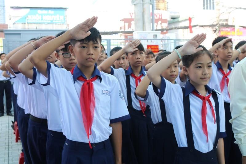 Trường học đầu tiên tại TP.HCM tổ chức lễ khai giảng - ảnh 5