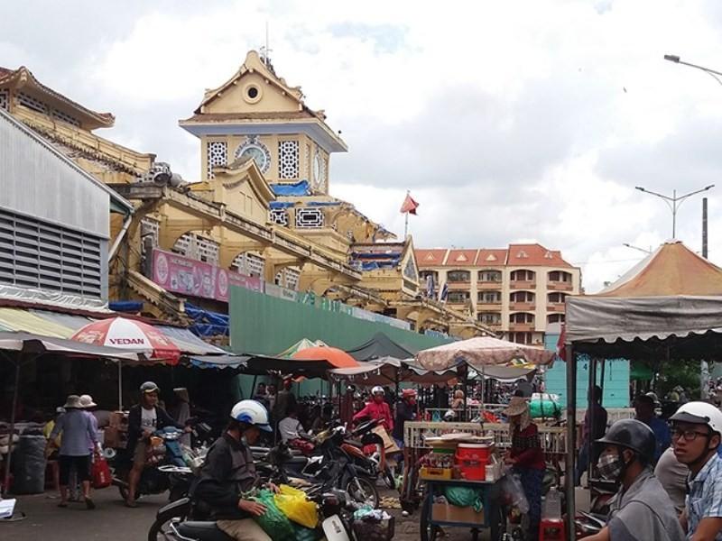 Đầu tháng 11 tiểu thương chợ Bình Tây về lại 'nhà cũ' - ảnh 1