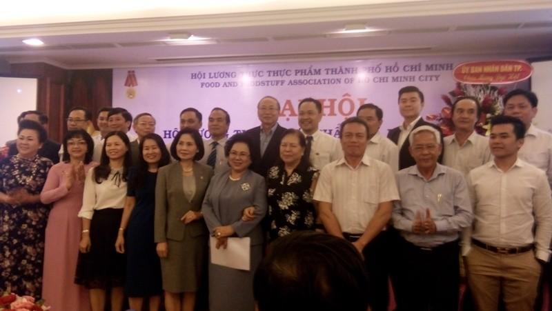 Bà Lý Kim Chi tái đắc cử chủ tịch Hội Lương thực thực phẩm TP - ảnh 1