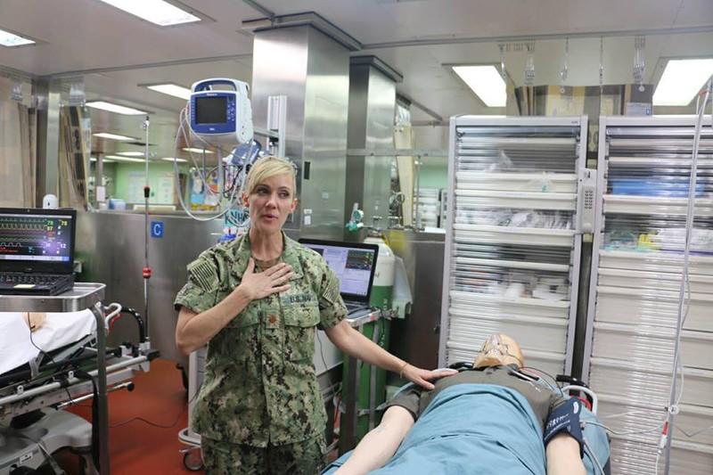 Tàu bệnh viện lớn nhất thế giới của Mỹ trở lại Nha Trang  - ảnh 6