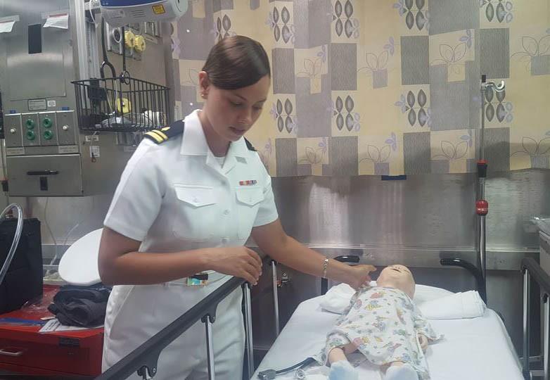 Tàu bệnh viện lớn nhất thế giới của Mỹ trở lại Nha Trang  - ảnh 7