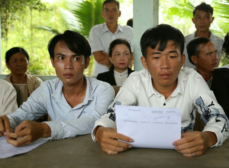 Cái Nước xin lỗi 3 người dân bị oan - ảnh 2