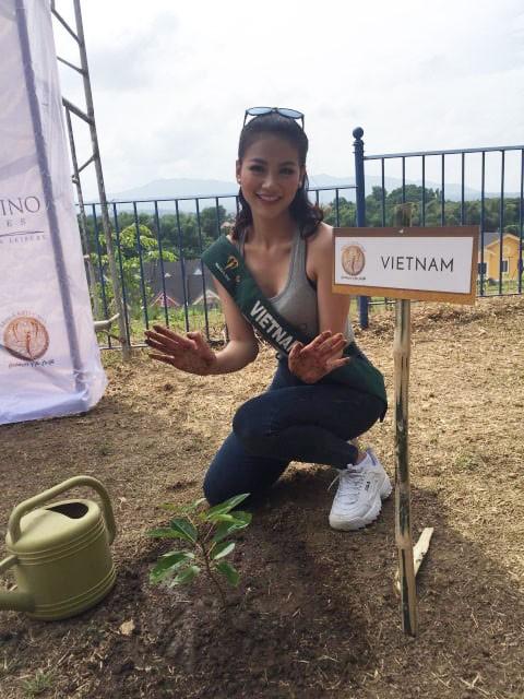 Hoa hậu Phương Khánh. Ảnh gia đình cung cấp