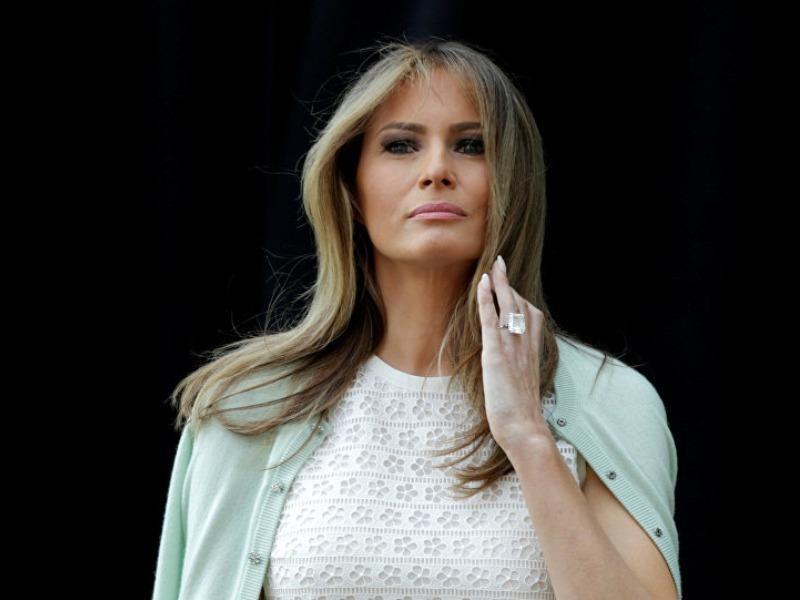 Đệ nhất phu nhân Melania Trump nhập viện  - ảnh 1