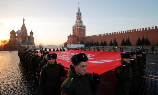 Nga tái hiện cuộc duyệt binh lịch sử năm 1941  - ảnh 5