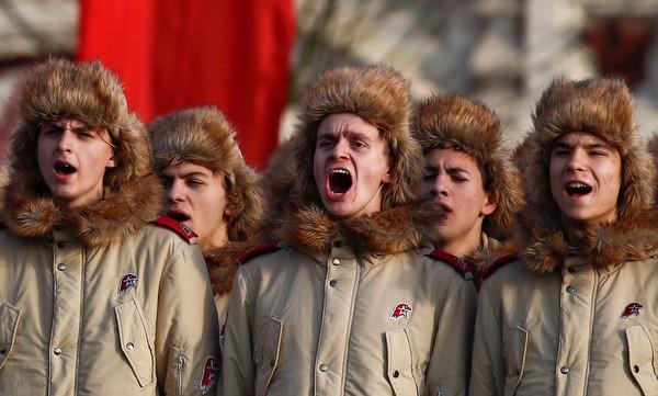 Nga tái hiện cuộc duyệt binh lịch sử năm 1941  - ảnh 6