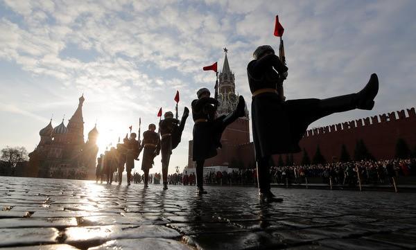 Nga tái hiện cuộc duyệt binh lịch sử năm 1941  - ảnh 7