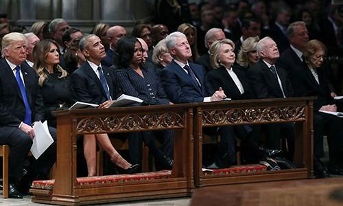 Những điểm nhấn tại đám tang cựu Tổng thống George H.W. Bush  - ảnh 2