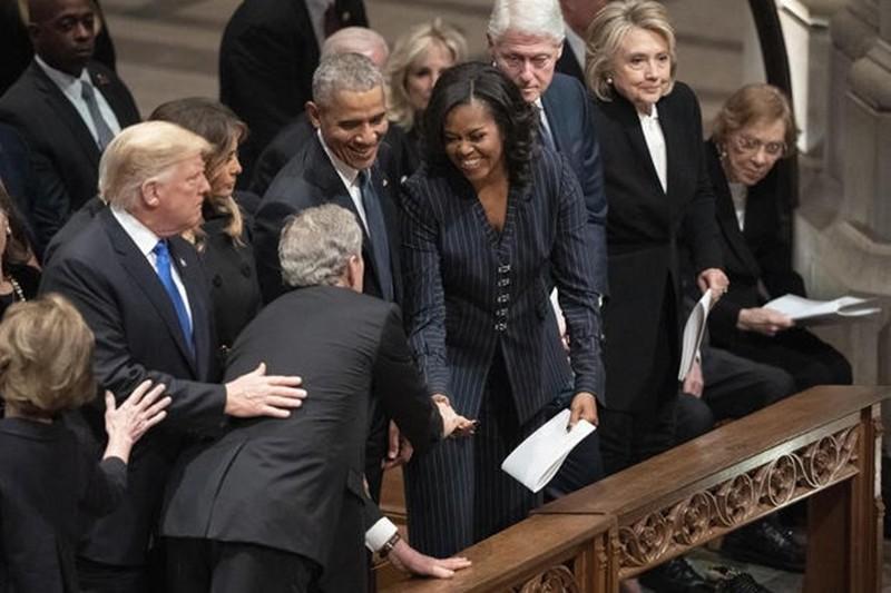 Những điểm nhấn tại đám tang cựu Tổng thống George H.W. Bush  - ảnh 3