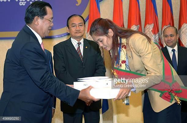 Thủ tướng Campuchia hỗ trợ cho nhà vô địch Asiad - ảnh 2