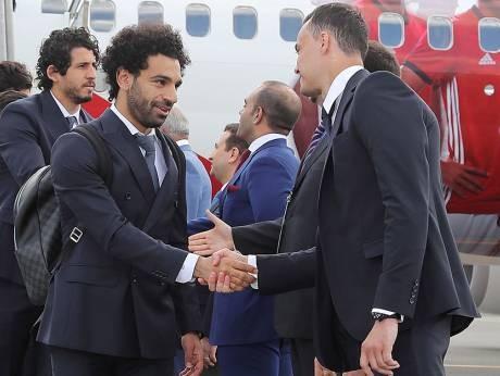 Salah đến Cheschnia vẫn chưa chịu ra sân tập - ảnh 1
