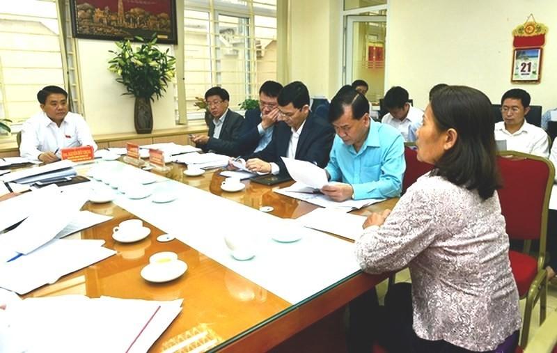 Chủ tịch Hà Nội nói về quy định không ghi hình nơi tiếp dân - ảnh 1