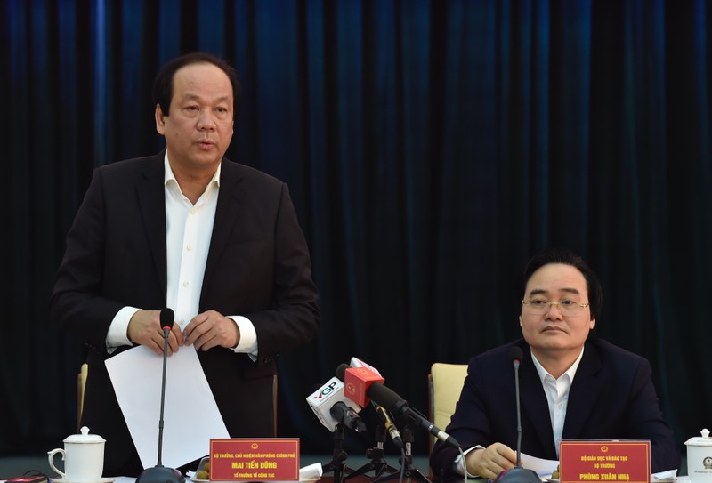 Bộ trưởng Nhạ nói về việc rà soát hồ sơ phong giáo sư - ảnh 1