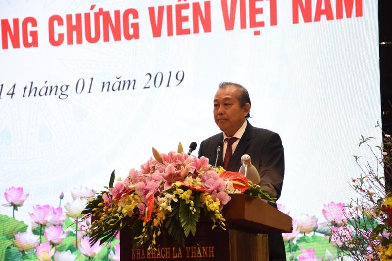 Hiệp hội công chứng Việt Nam chính thức được thành lập - ảnh 1