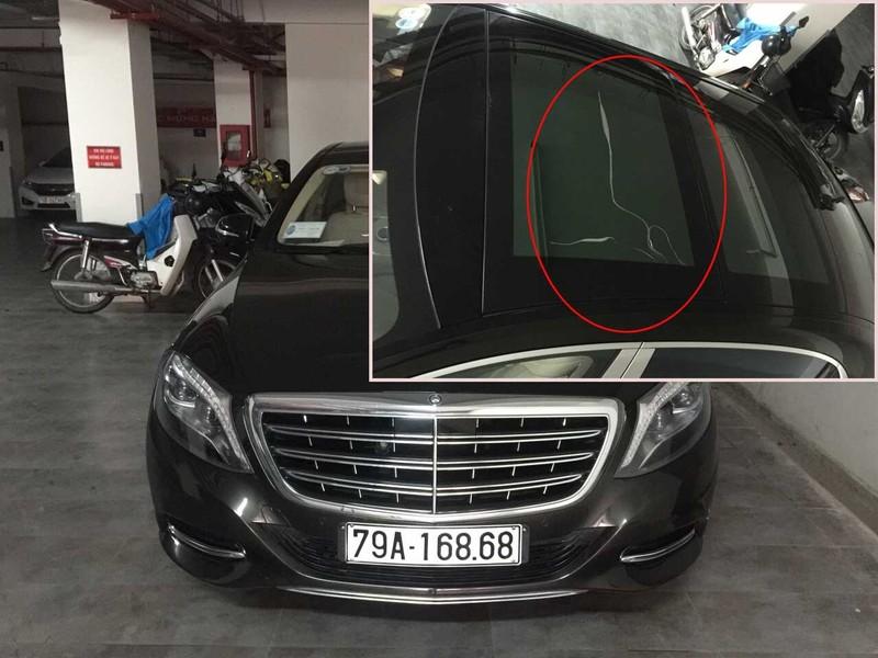Gay cấn chuyện bảo trì kính ô tô siêu sang Mercedes - ảnh 1