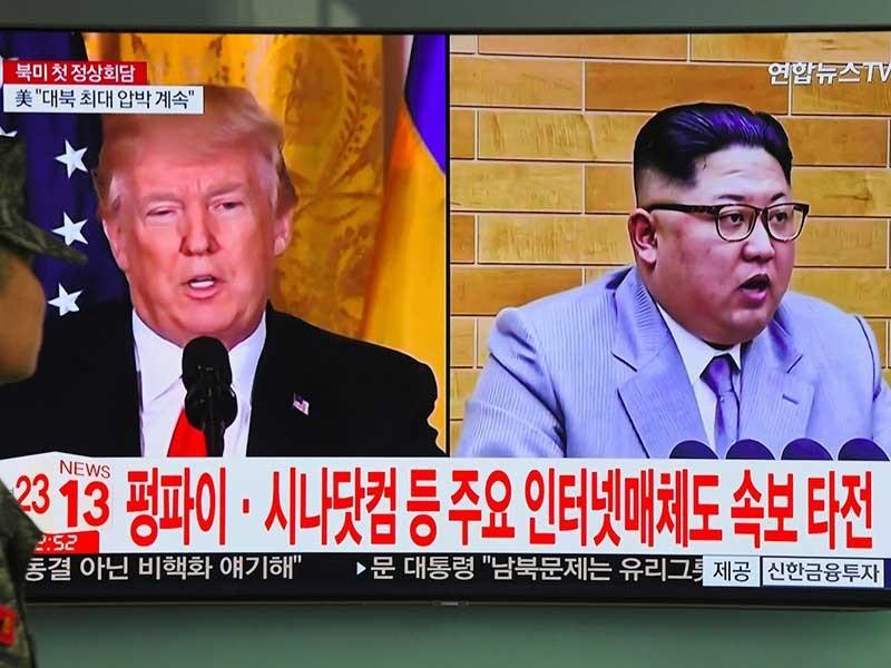 Ông Kim Jong-un bất ngờ 'nắn gân' ông Trump - ảnh 1