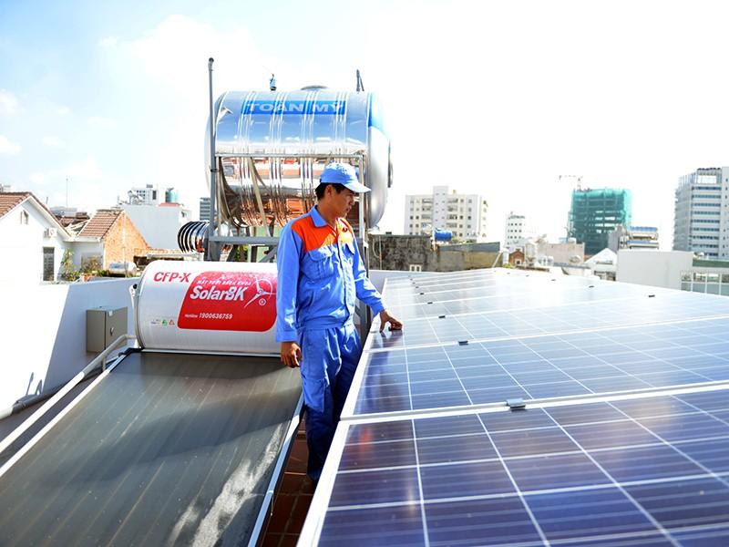 Điện mặt trời: Vừa xài thả ga, vừa bán lại được - ảnh 1