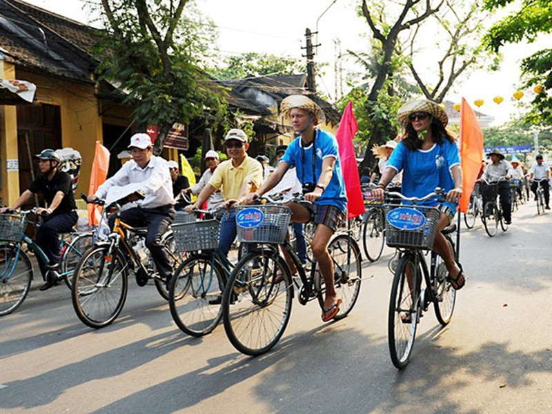 Xây dựng Hội An là TP đi lại bằng xe đạp - ảnh 1